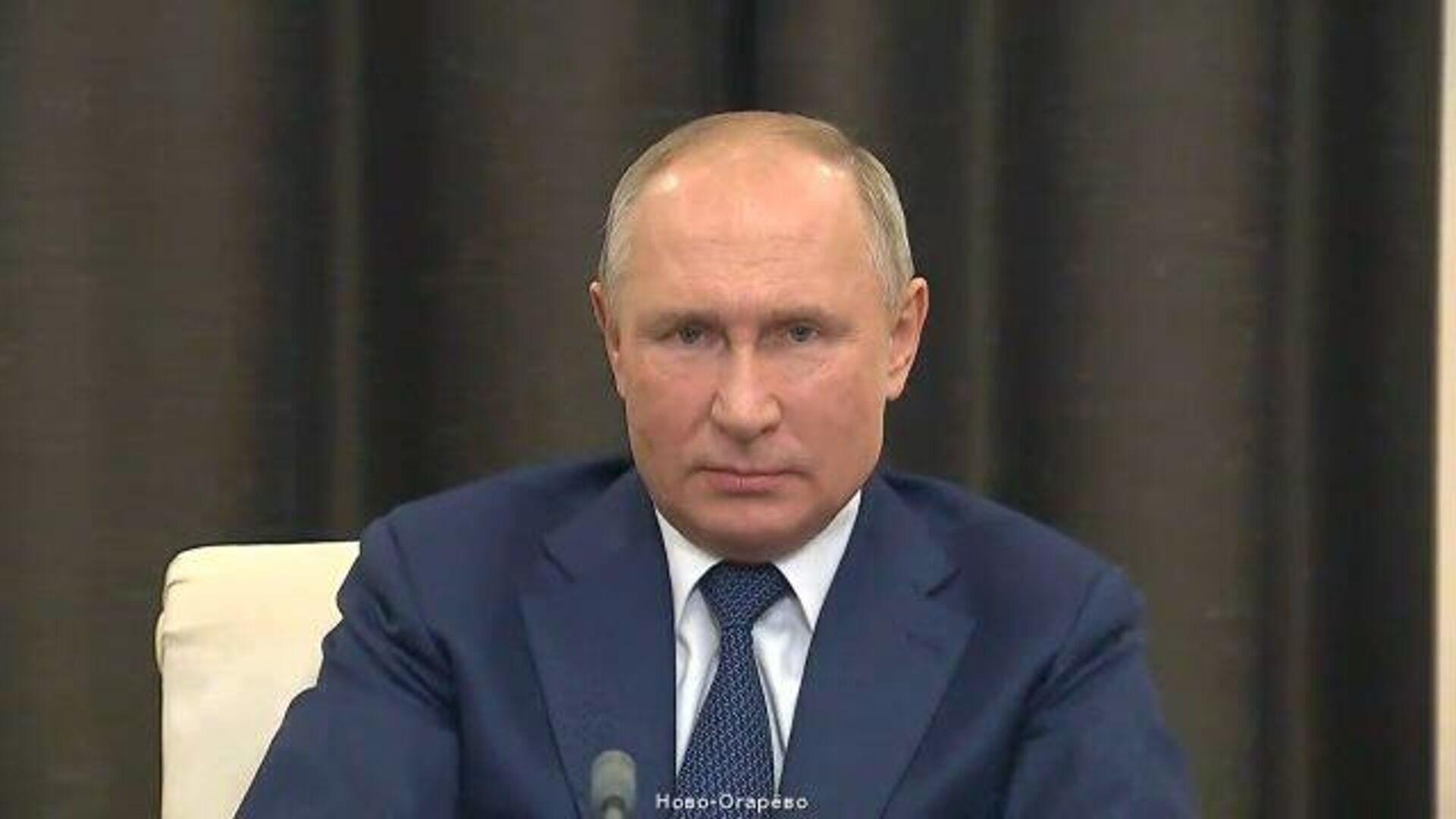 Путин рассказал о планах повсеместного внедрения технологии искусственного интеллекта  - РИА Новости, 1920, 04.12.2020