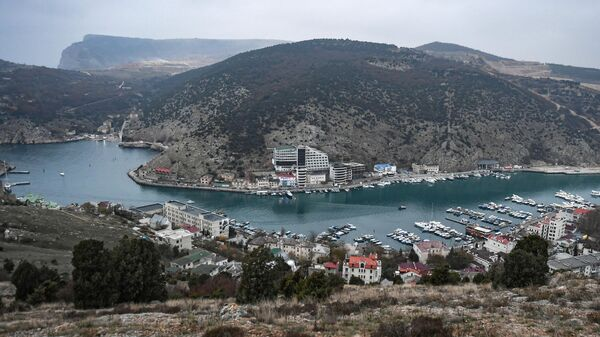 Вид на Балаклавскую Бухту, Крым