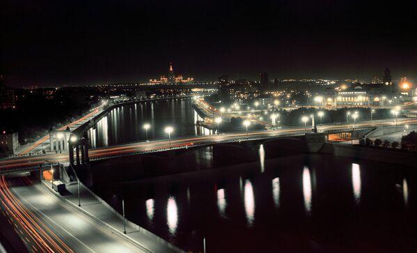 Панорама ночной Москвы
