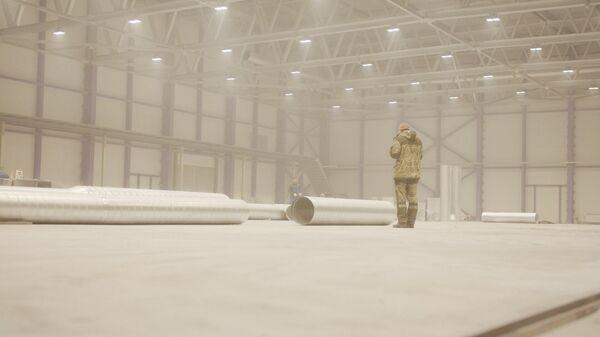 Строительство ледового спорткомплекса в Петропавловске-Камчатском