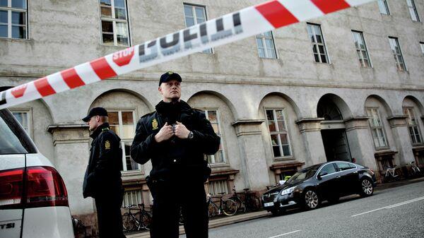 Полицейские в Копенгагене