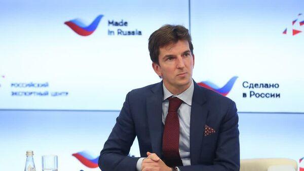 Гендиректор АО ЭКСАР, старший вице-президент АО Российский экспортный центр (РЭЦ) Никита Гусаков