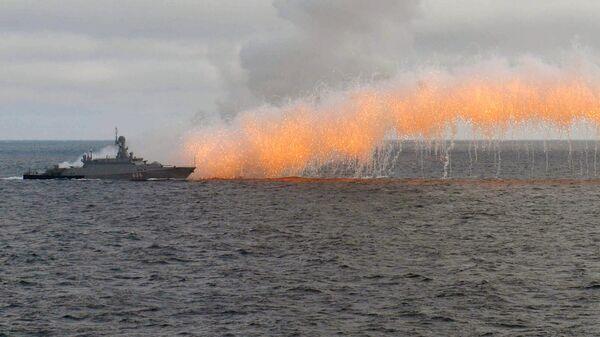 Стрельбы во время учений в Черном море