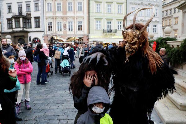 Празднование Дня Святого Николая в Праге