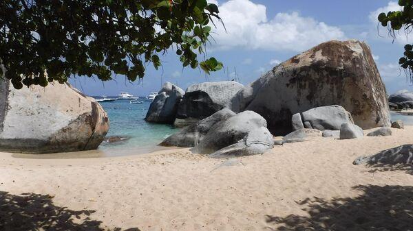 Пляж на Виргинских островах