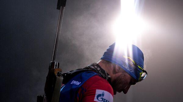 Биатлонист Александр Логинов (Россия)