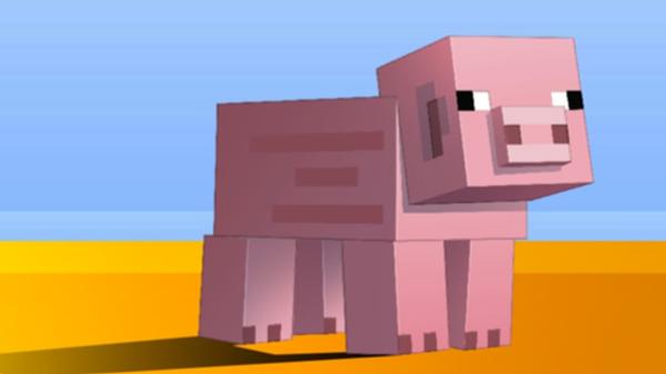 Афиша Minecraft-спектакля Недоросль на сцене виртуального БДТ