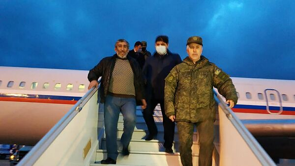 Обмен пленными между Арменией и Азербайджаном
