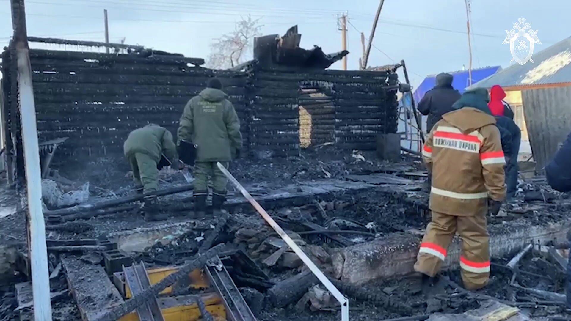 В Башкирии арестовали владелицу сгоревшего дома престарелых