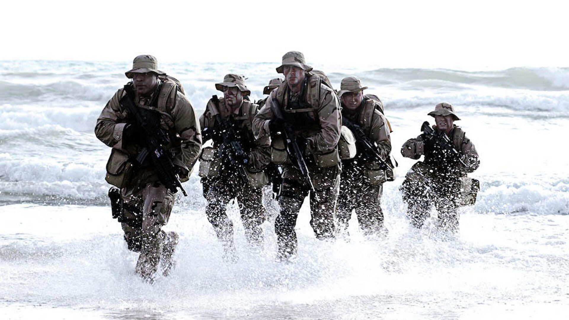 Бойцы спецназа Navy SEAL (США) - РИА Новости, 1920, 16.05.2021