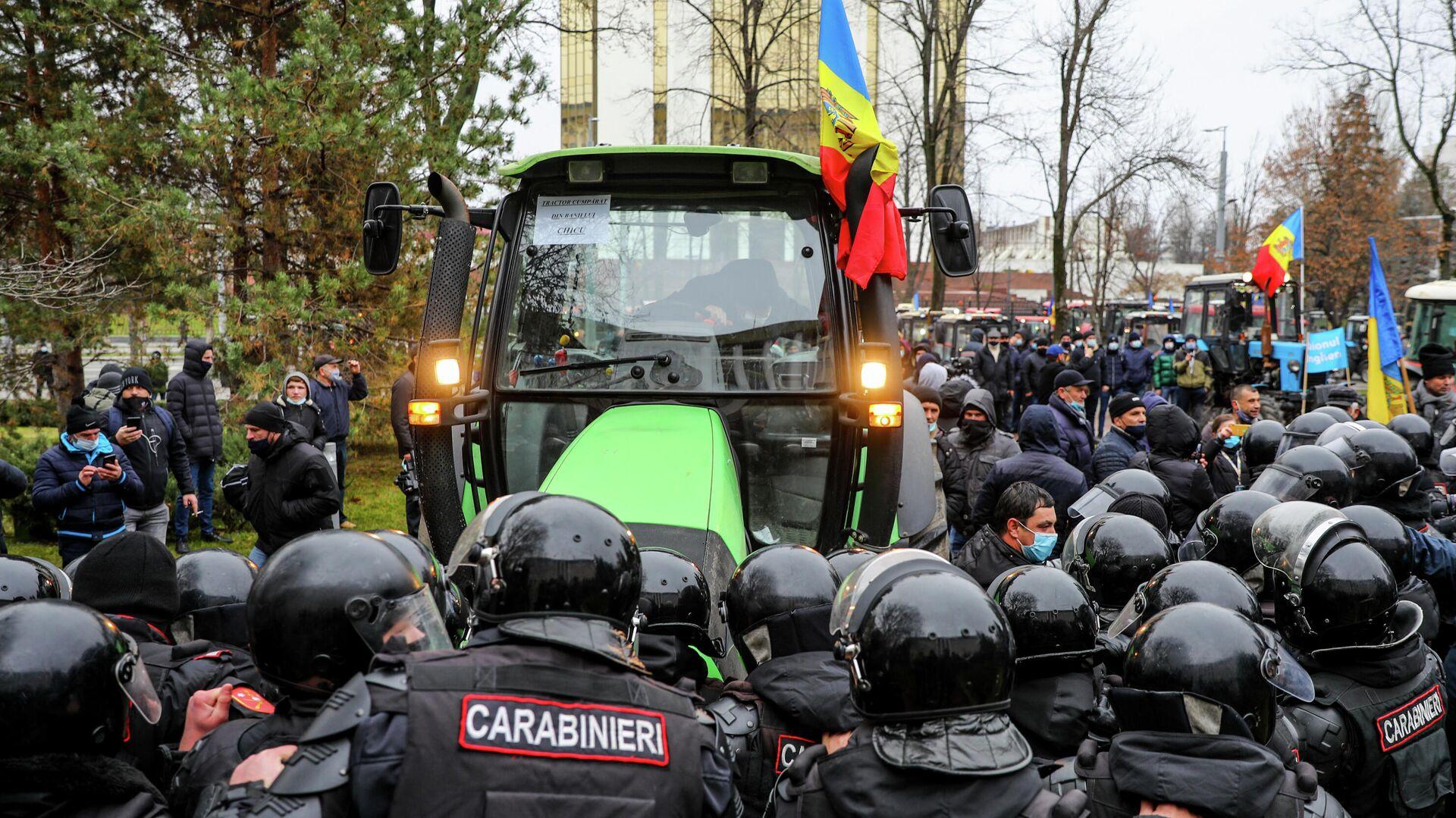 В Молдавии завели дело из-за беспорядков на акции протеста фермеров