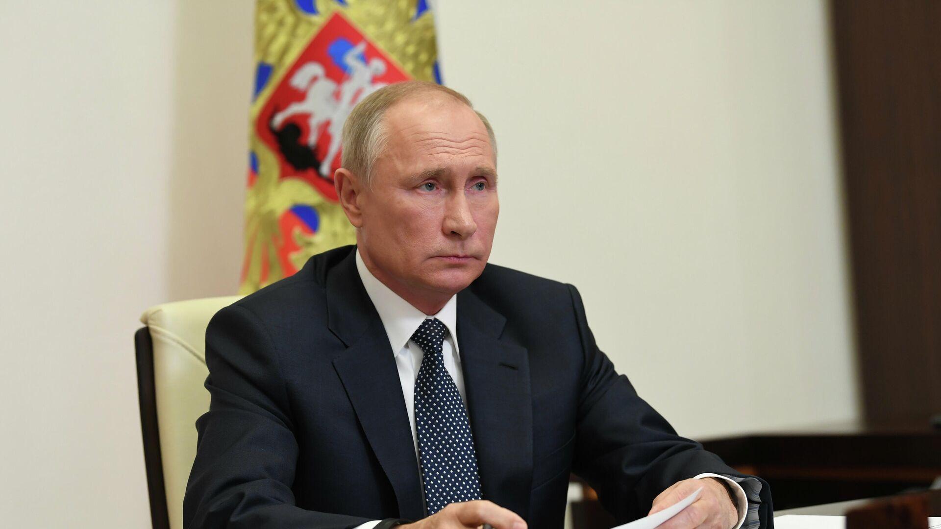 Президент РФ Владимир Путин - РИА Новости, 1920, 03.03.2021