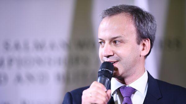 Председатель Международной федерации шахмат (FIDE) Аркадий Дворкович