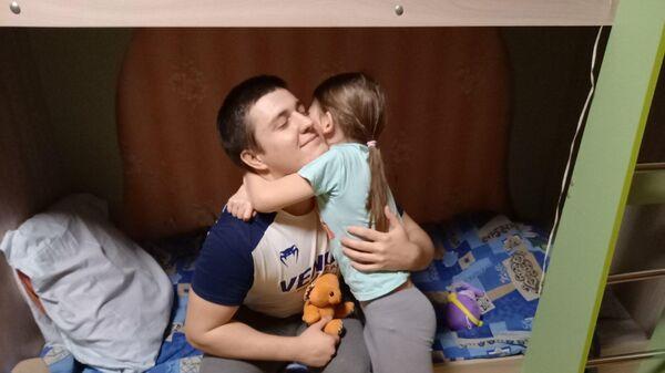 Ярослав Ионуш с сестрой