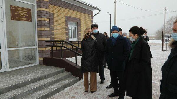 Новый дом культуры в селе Дубовое