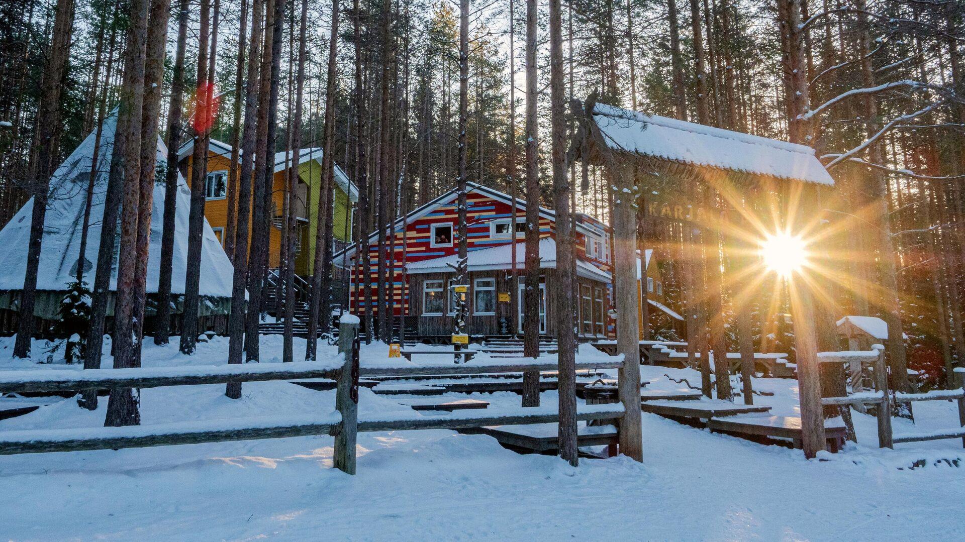 Туристический комплекс Карьяла Парк в Пряжинском районе Карелии - РИА Новости, 1920, 25.12.2020