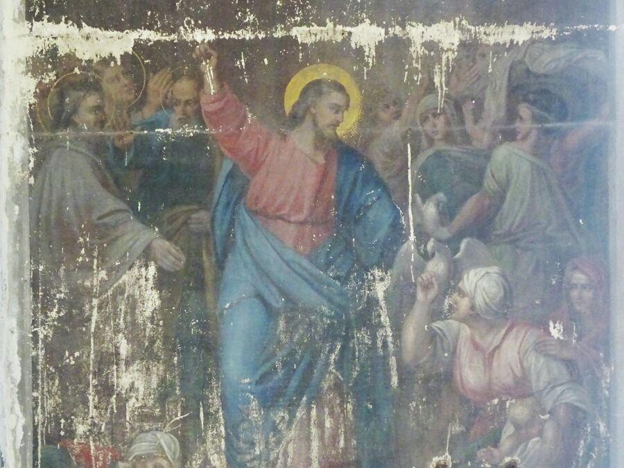 Богоявленский собор, фрагмент росписи
