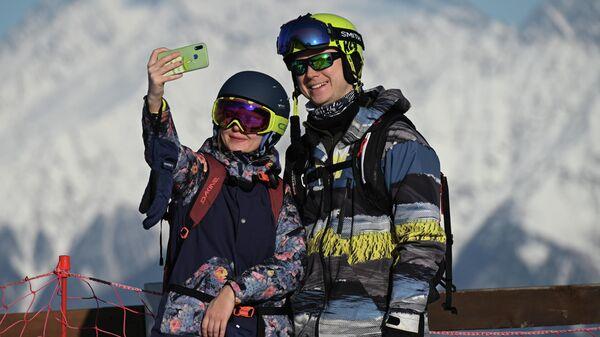 Открытие горнолыжного сезона на курорте Красная Поляна
