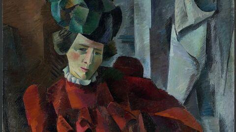 Фальк Р.Р. Дама в красном. 1918