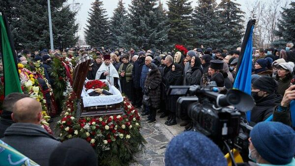 Церемония прощания с мэром Харькова Геннадием Кернесом
