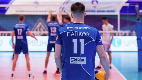 Игрок волейбольного клуба Динамо (Москва) Павел Панков