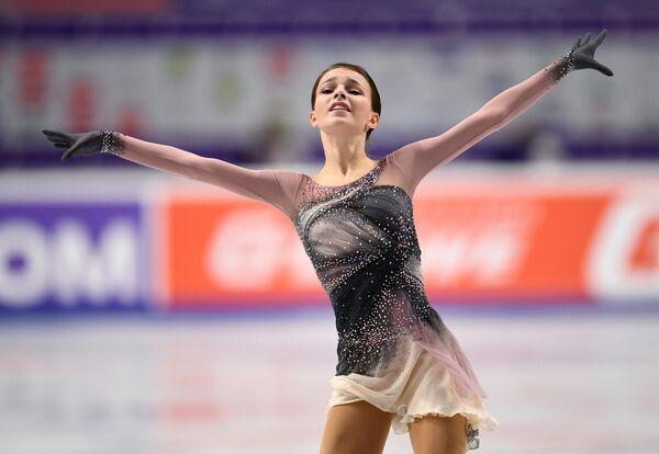 Фигурное катание. Чемпионат России. Женщины. Произвольная программа