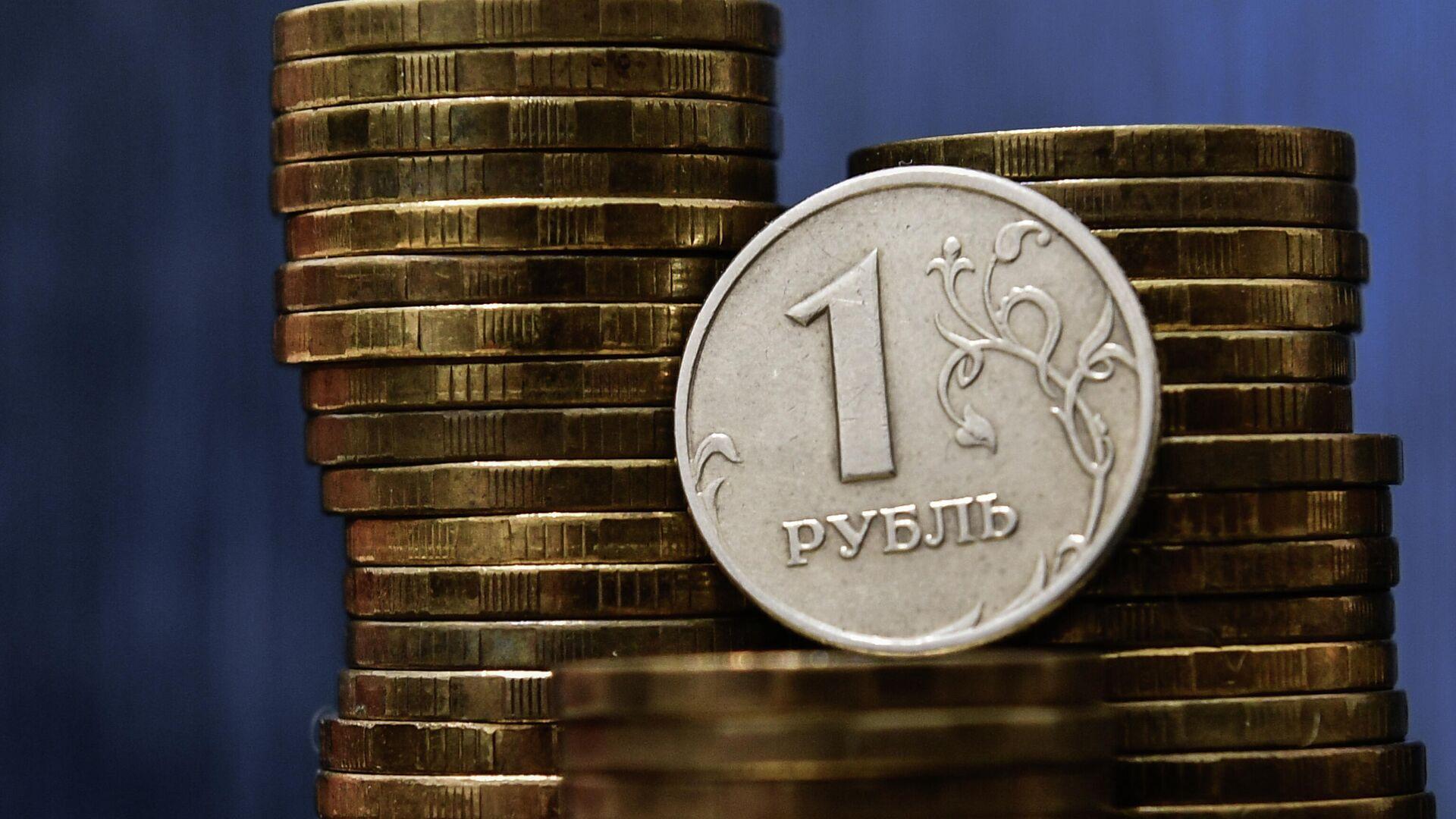Монеты номиналом один рубль - РИА Новости, 1920, 18.01.2021