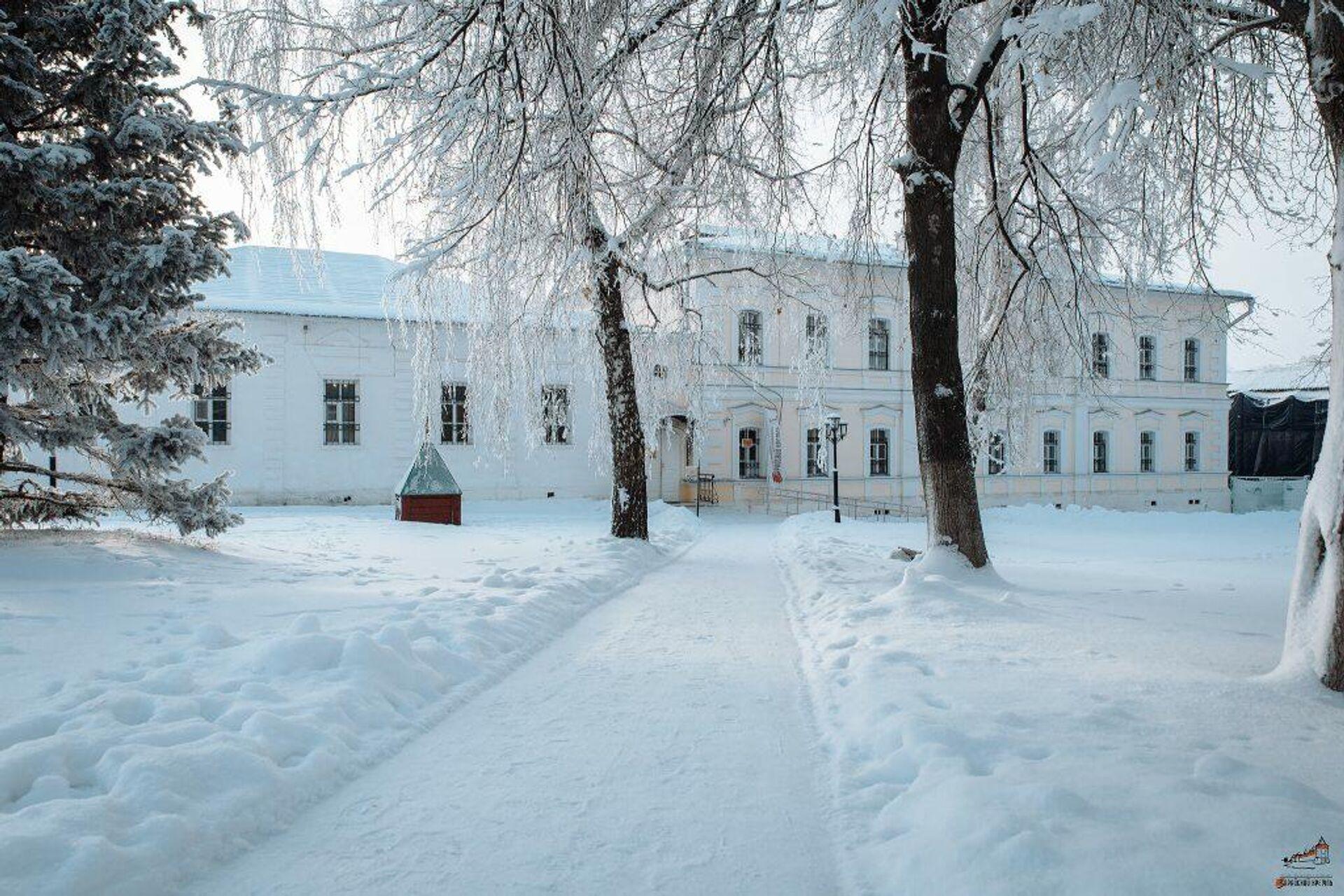 На территории Зарайского кремля - РИА Новости, 1920, 02.01.2021