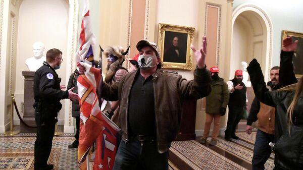 Протестующие в Вашингтоне