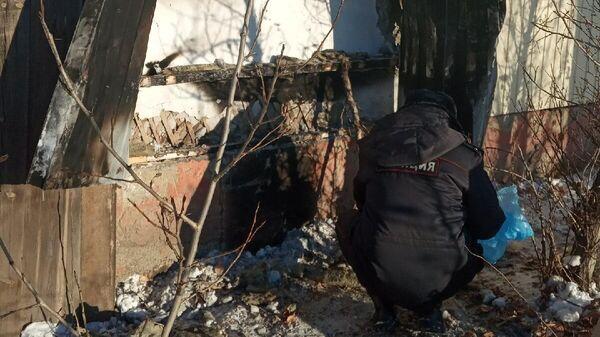 Поджёг приюта Кот и пёс в Улан-Удэ