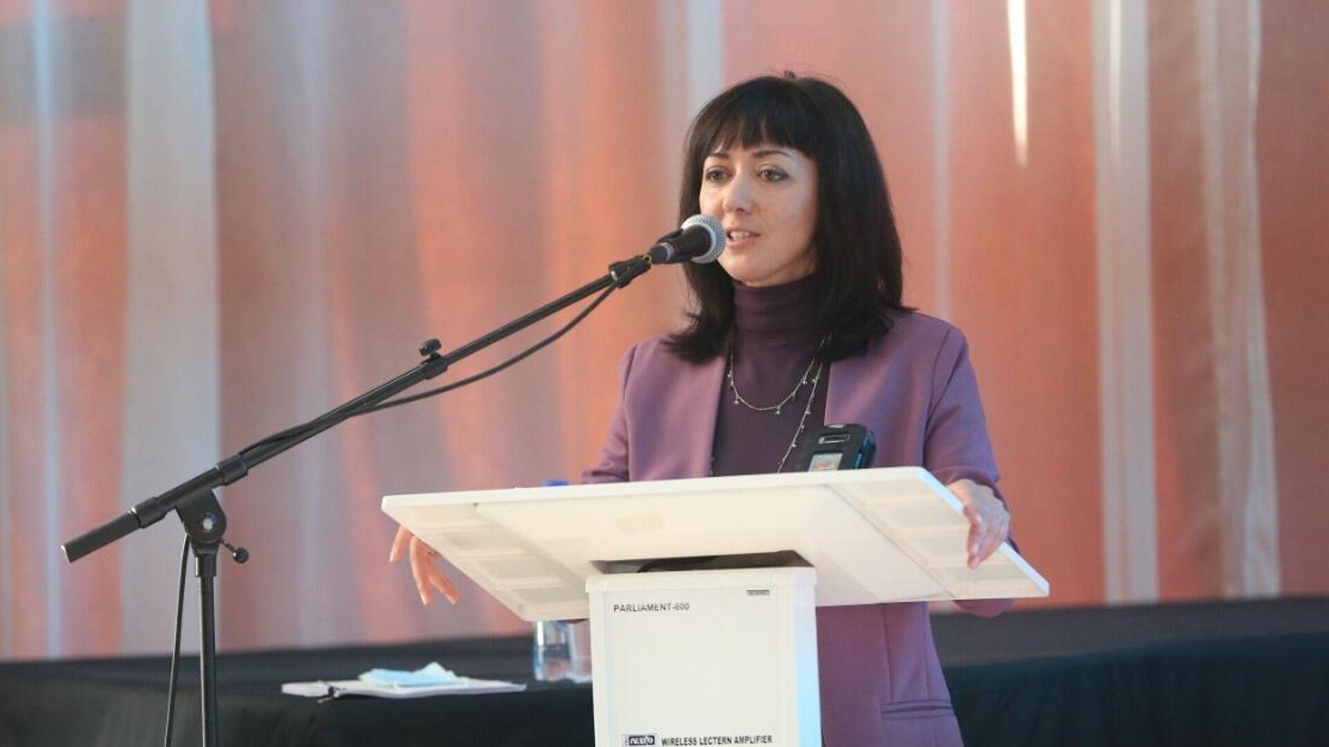 Министр здравоохранения Забайкальского края Анна Шангина - РИА Новости, 1920, 11.01.2021