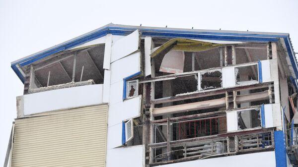Производственное здание частично обрушилось в Новосибирске