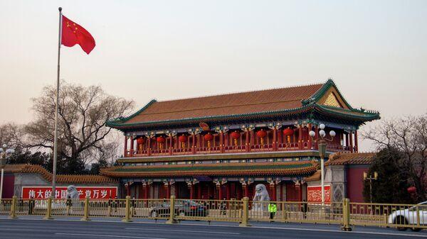 Вход в комплекс Чжуннаньхай