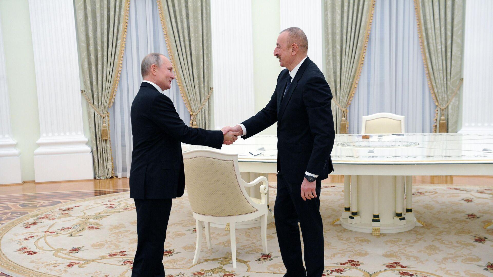 Президент Путин: экономические отношения России и Азербайджана восстанавливаются после пандемии