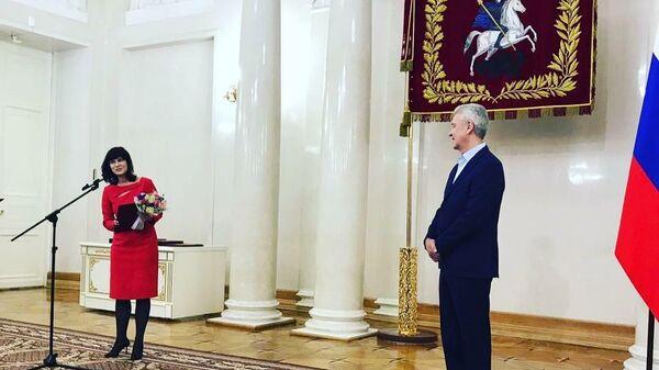 Руководитель редакции Новости недвижимости Ольга Набатникова стала лауреатом премии Москвы в области журналистики