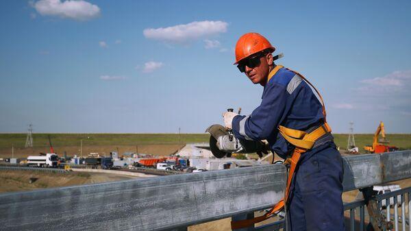 Строительство транспортной развязки в Адыгее