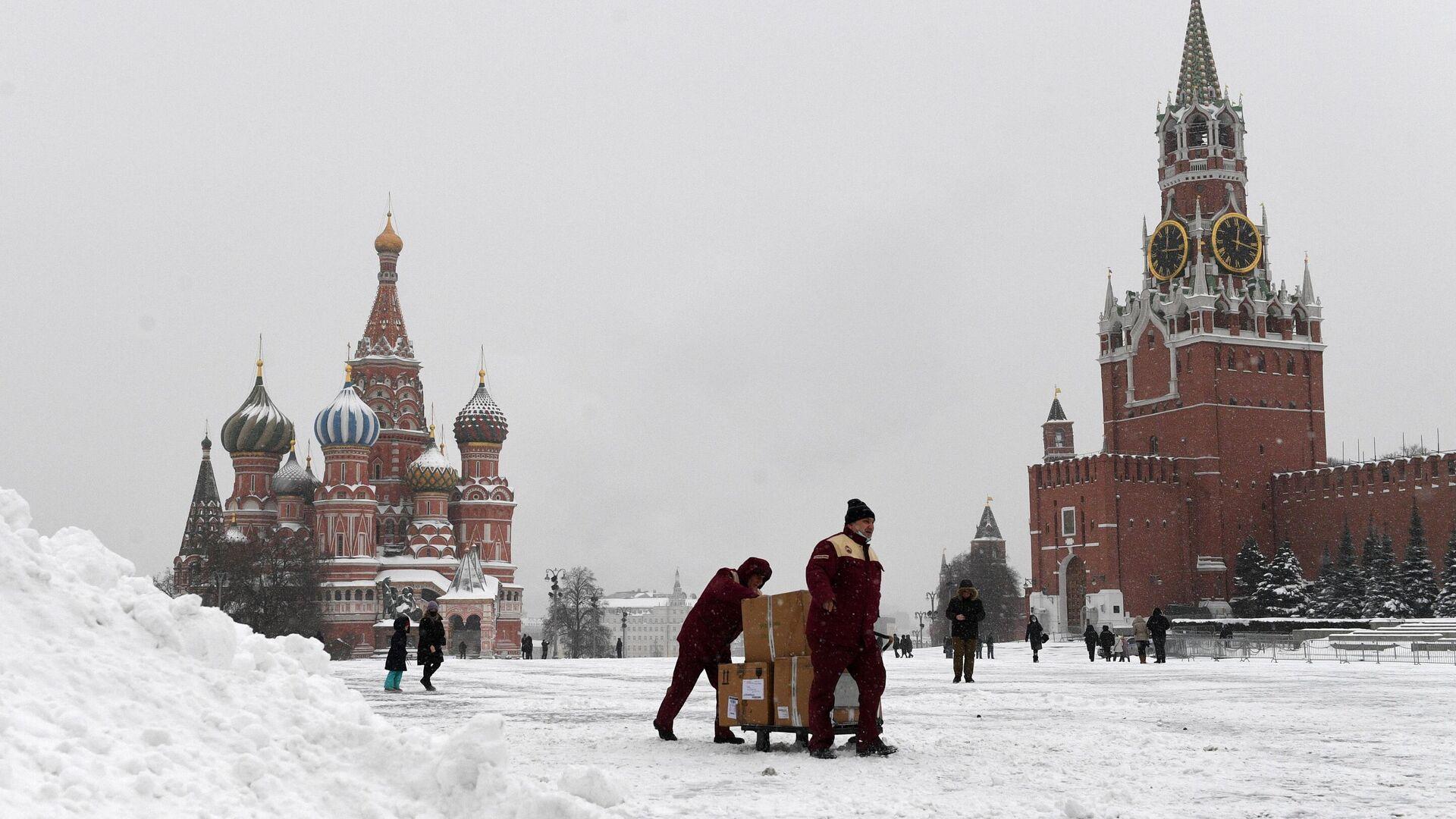 Красная площадь в Москве - РИА Новости, 1920, 15.01.2021