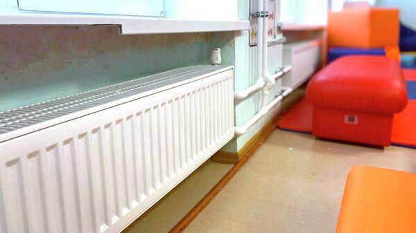 Новая система отопления в школе