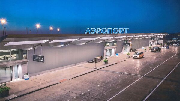 Проект терминала аэропорта на космодроме Восточный