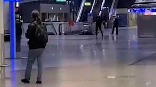 Эвакуация в аэропорту Франкфурта