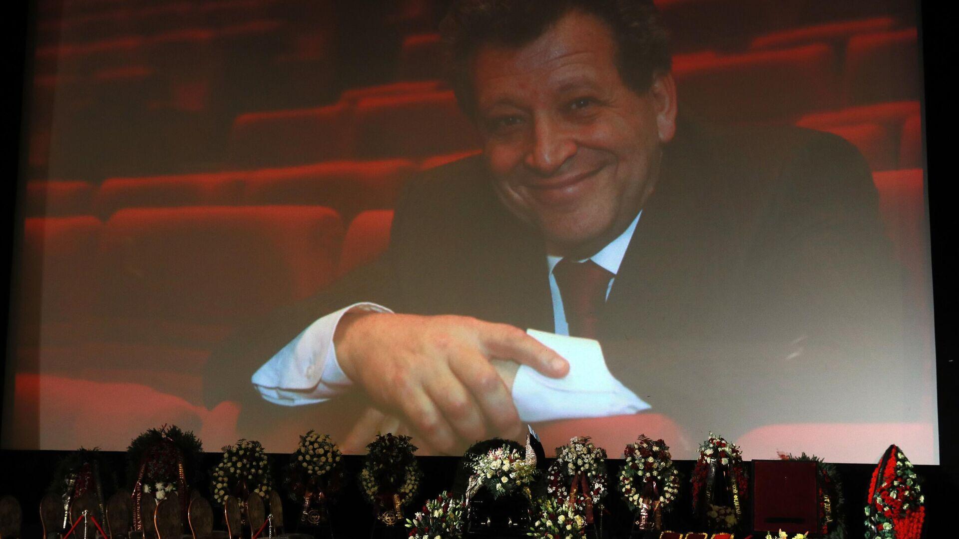 На церемонии прощания с создателем детского юмористического киножурнала Ералаш, режиссером Борисом Грачевским в Доме кино в Москве - РИА Новости, 1920, 17.01.2021