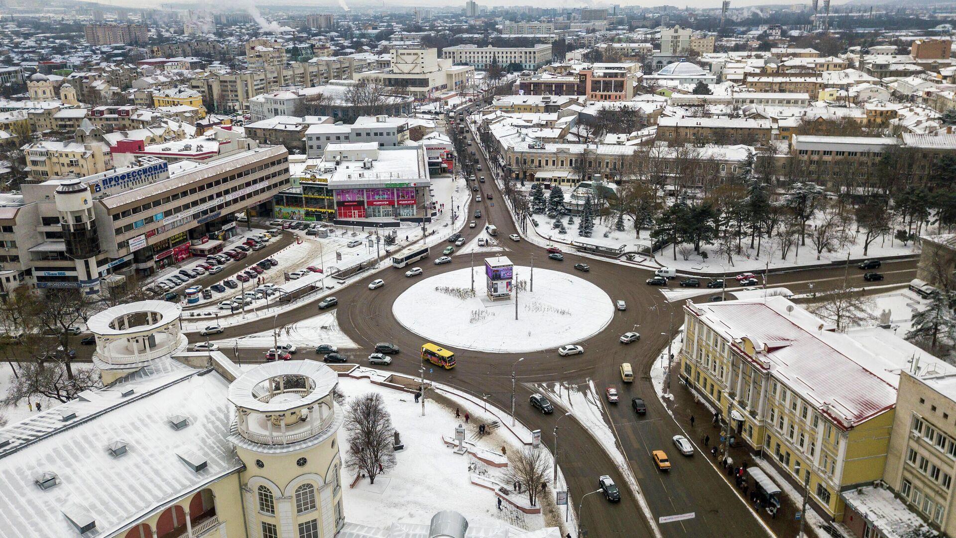 Заснеженный Симферополь - РИА Новости, 1920, 17.01.2021