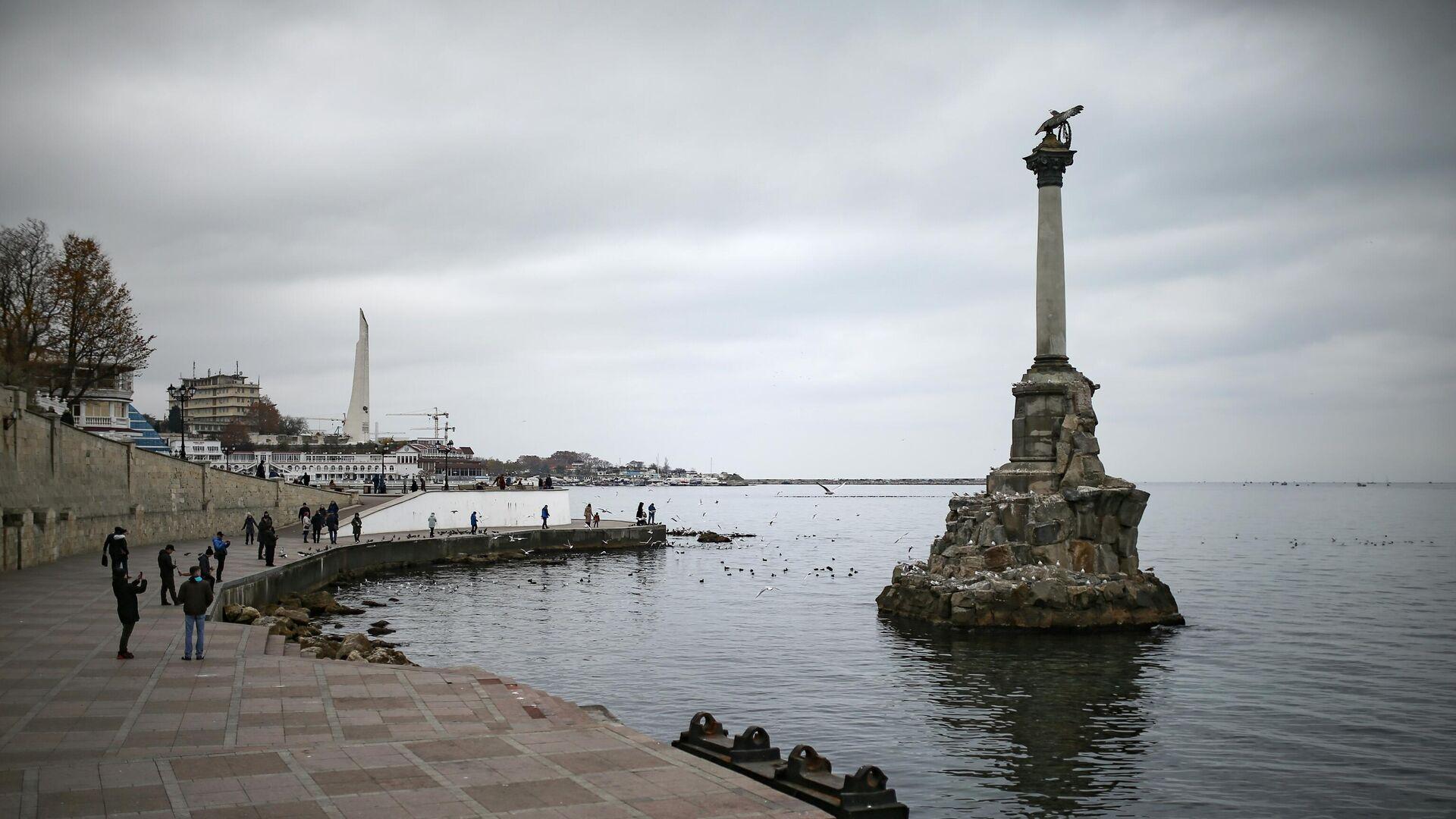 Памятник затопленным кораблям в Севастополе - РИА Новости, 1920, 27.01.2021