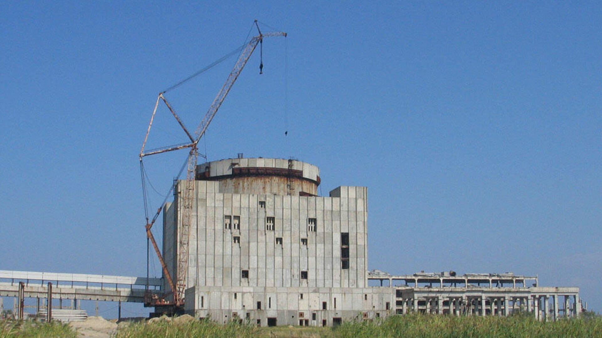 Крымская АЭС. 2008 год - РИА Новости, 1920, 19.01.2021