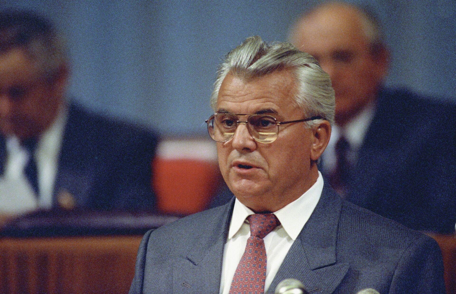 Председатель Верховного Совета Украины Леонид Кравчук - РИА Новости, 1920, 19.01.2021