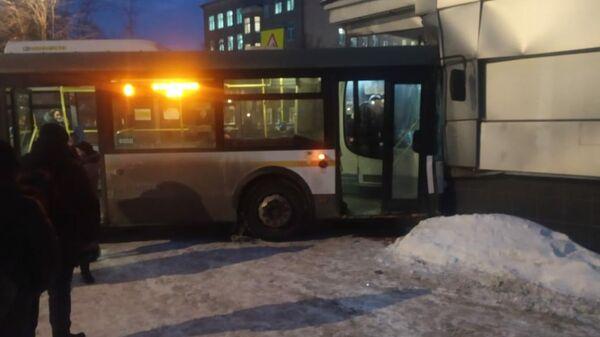 На месте ДТП с автобусом в Элетростали