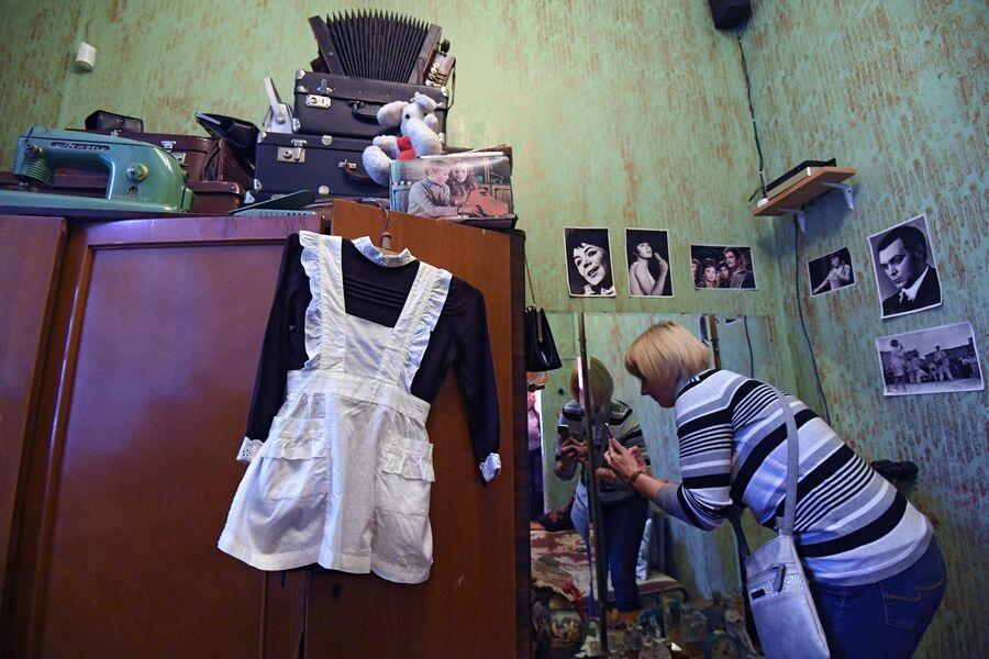 Жилая комната в музее Арткоммуналка. Ерофеев и Другие в Коломне