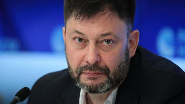 Кирилл Вышинский на пресс-конференции в Международном мультимедийном пресс-центре МИА Россия сегодня