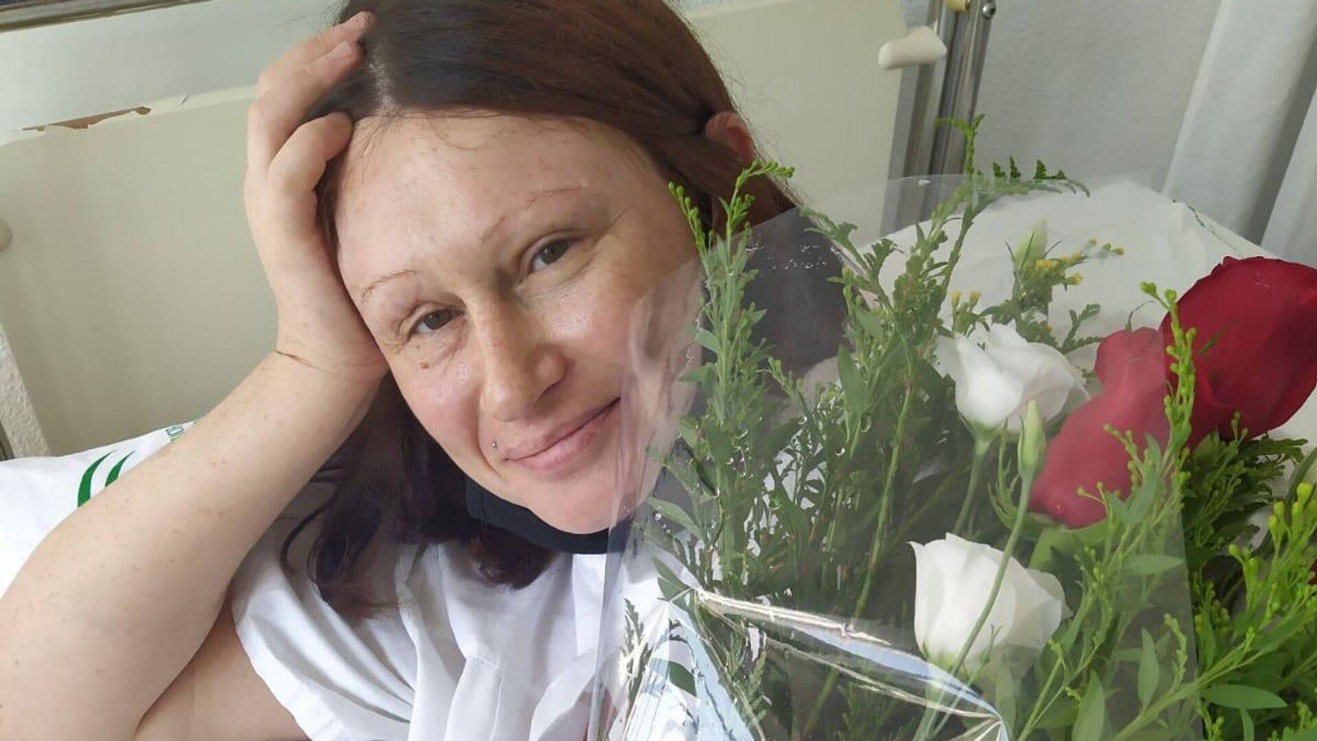 Татьяна Сафонова в роддоме - РИА Новости, 1920, 29.01.2021
