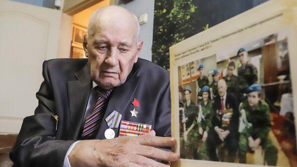 Ветеран Великой Отечественной Войны Владимир Яковлевич Ткачев